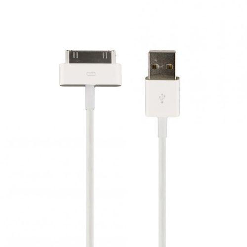 HTCOM 2m USB Lade Datenkabel Micro-USB auf USB universal - Weiss