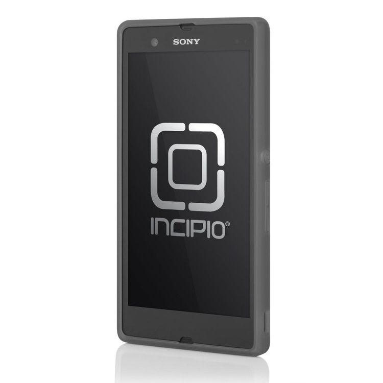Incipio Feather Cover Hülle für Sony Xperia Z Grau