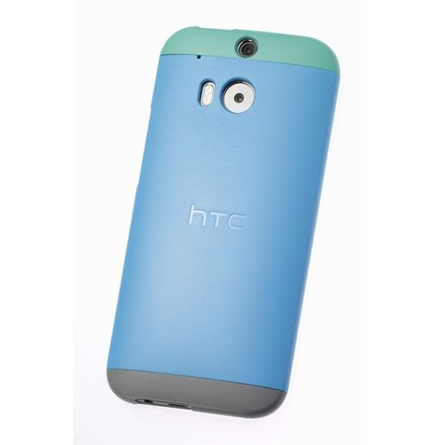 Original HC-C940  HTC One M8 Double Dip Back Cover Blau