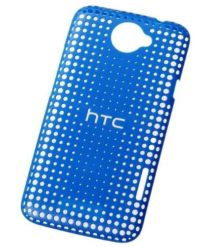 HTC HC C704 Hard Cover für HTC One X - Blau