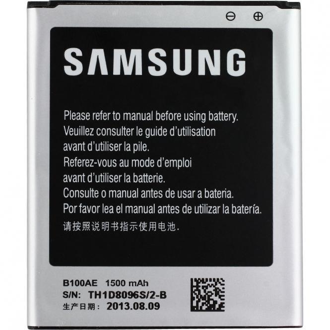 Samsung Original 1500 mAh Li-Ion Akku Batterie EB-B100AE für Samsung Galaxy Ace 3 (nicht GT-S7275R)