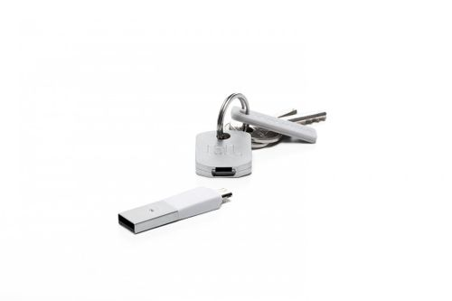 Bluelounge Kii Micro-USB Lade- und Synchronisationsstecker Smartphones, Tablets in weiss