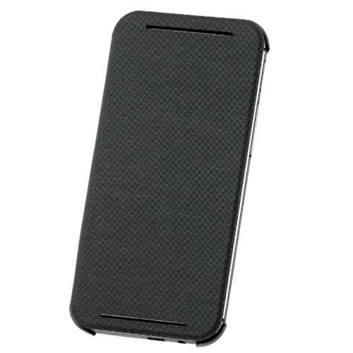 HTC HC V941 Flip Cover Hülle für HTC ONE M8 - Grau