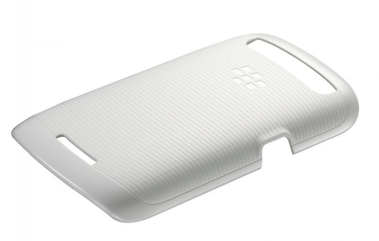 BlackBerry Soft Shell Handy Cover Hülle für BlackBerry Q10 - Weiss