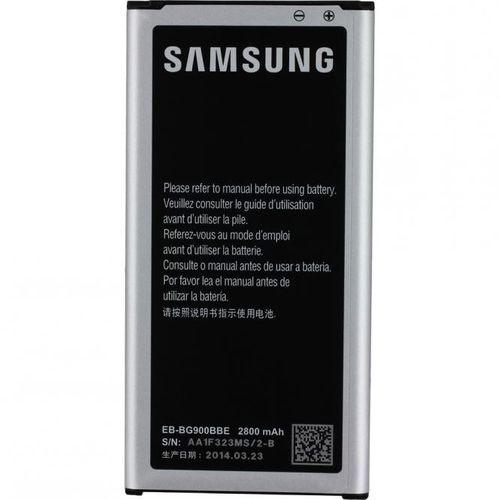 Original Bulk Samsung EB-BG900BBE Akku Li-Ion 2800mAh, Galaxy S5 G900F mit Eingabestift Schwarz