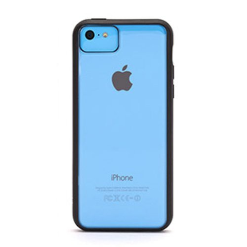 Griffin GB38244 Reveal TPU Hülle Cover für iPhone 5C schwarz/transparent