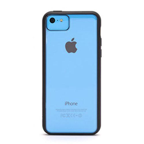 Griffin GB38244 Reveal TPU Hülle Cover für iPhone 5C schwarz/transparent