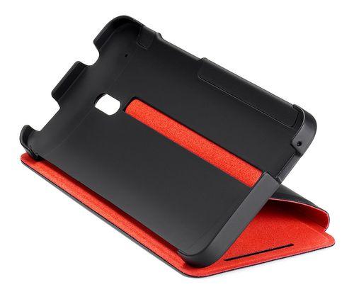 HTC HC-V851 Flip Cover Hülle für HTC ONE Mini - Schwarz