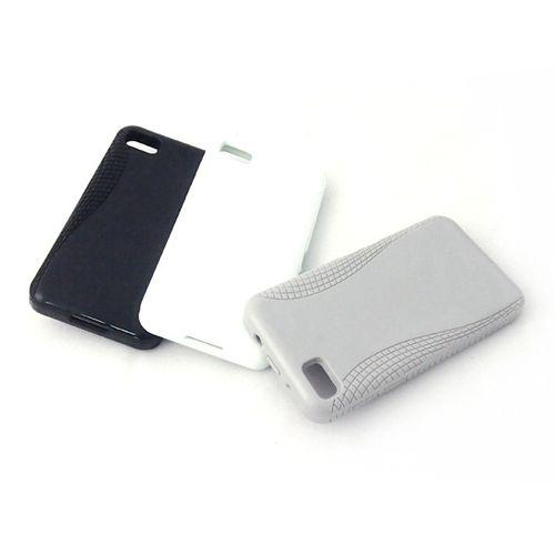 Konkis 3 x TPU Schutzhülle Cover für BlackBerry Z10 schwarz/weiss/grau