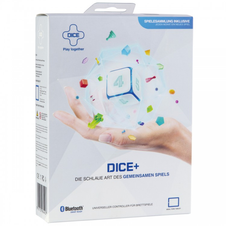 Dice+ electronischer Bluetooth LED Würfel ab iOS 6.0/Android 4.0
