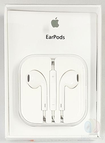 Original Apple MD827 EarPods Headset Kopfhörer Fernbedienung Blister+ Mini Stylus blau