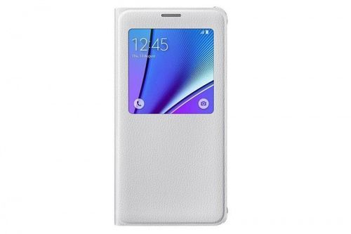 EF-CN920PWE Samsung S-View Cover Hülle Galaxy Note 5 Weiss