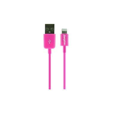 Energizer HighTech Lightning 1m Kabel Pink, iPhone 7 SE 5S 6 6S iPad