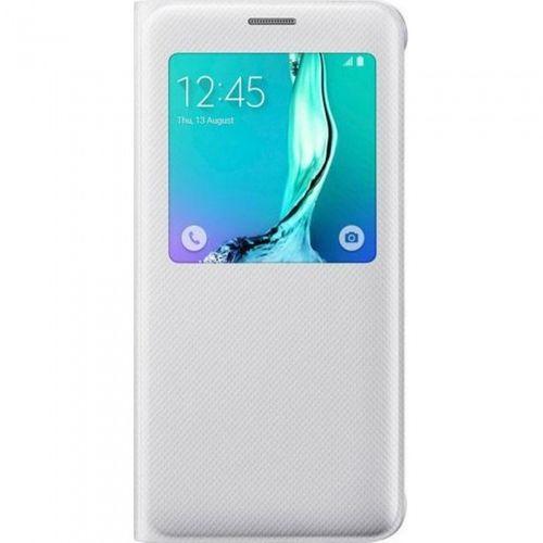 Samsung EF-CG928PWEGWW S-View Cover Weiss für Galaxy S6 Edge+