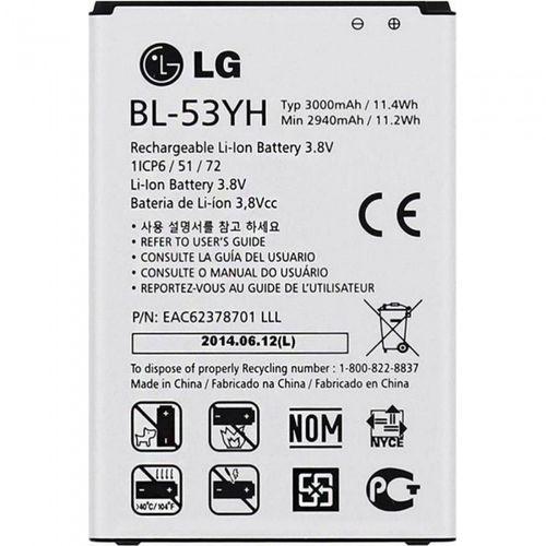Original LG Akku Batterie BL-53YH 3000mAh Li-Ion für G3 D855
