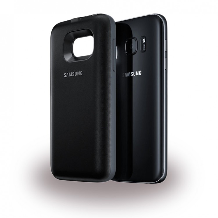 Samsung EP-TG930BB Power Lade Cover 2700mAh für G930 Galaxy S7