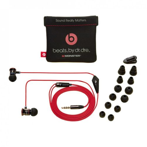 Beats by Dr. Dre Monster - In Ear Ohrhörer Headset iBeats für iPhone iPad iPod in schwarz