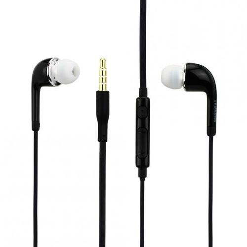Original EO-EG900B Samsung InEar Headset in weiss und schwarz Samsung Galaxy S6 mit 2 x Displayschutzfolie