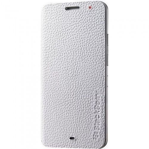 Blackberry ACC-57201-002 Leder Flip Wallet Cover für Z30 in weiss