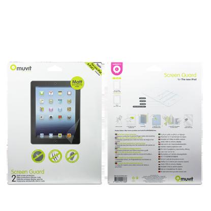 Original Apple MA591 Bulk Ladekabel 30pin für iPad 3 iPad 2, 2x Matt Displayschutzfolie