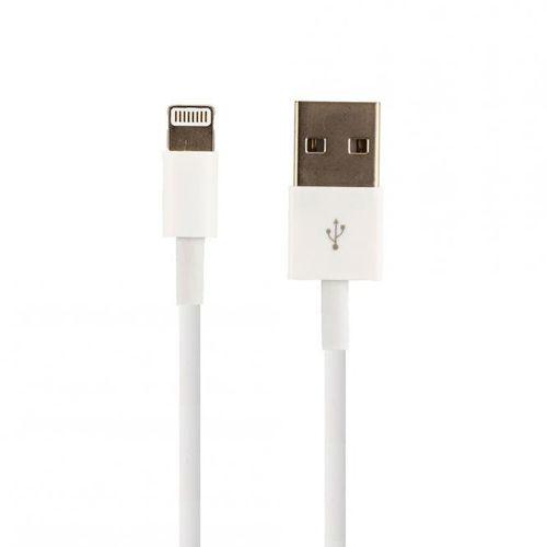Original Bulk Apple MD818ZM/A Lightning Ladekabel iPhone 6 6s, 4x Klar Displayschutzfolie