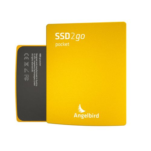 Angelbird SSD2go pocket externe 256GB SSD | USB 3.0 | TRIM-Support | gold | AB-2GOPKT256GK