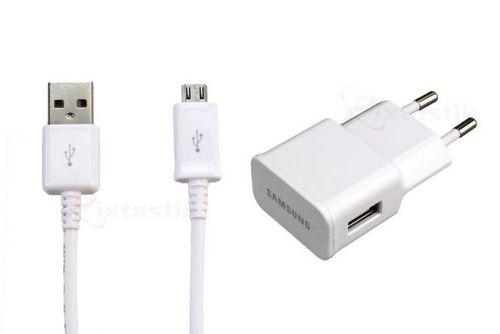 Samsung Adapter Netzteil ETA-U90EWE Weiss, Ladekabel DG925, Galaxy S3 S4 A5 Note