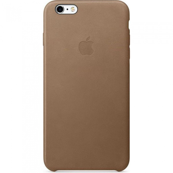 Apple MKX92ZM/A Leder Cover Hülle für iPhone 6s+ Plus - Braun