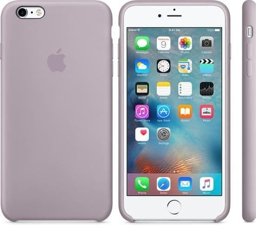 Originalverpackung Apple Silikon Cover Hülle für iPhone 6 6S in violett Lavender