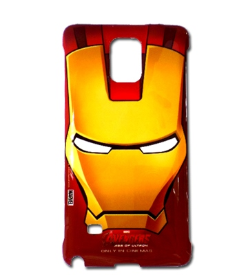 Original Samsung Marvel Avengers Iron Man Hard Case für Galaxy Note 4