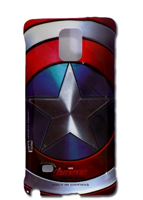 Original Samsung Marvel Avengers Captain America Hard Case für Galaxy Note 4