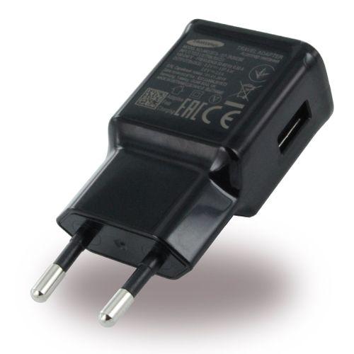 Samsung EP-TA20EBE Schnelllade Netzteil, EP-DG950CBE Ladekabel USB-C schwarz, GALAXY S10 S9 S8 Plus Note 9 Bulk