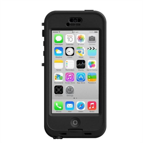 LifeProof Nüüd Cover Hülle, wasserdicht für Apple iPhone 5C - schwarz