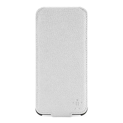 Belkin Snap Folio Hülle Cover für Apple iPhone 5/5S weiss