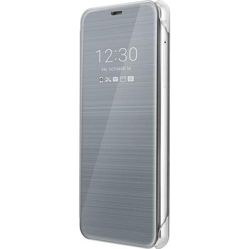 LG CFV-300.AGEUPL Quick Cover Hülle Clear für LG G6 H870 platin silber