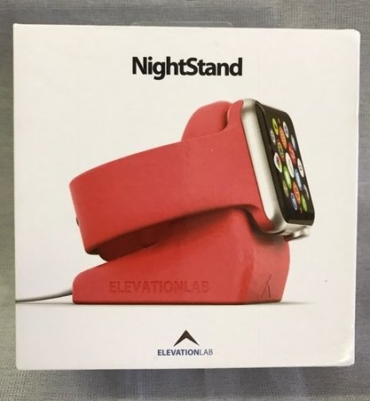 Elevation Lab NS-103 Nightstand Ständer für Apple iWatch pink