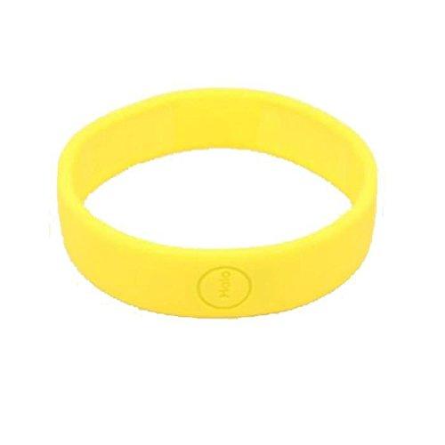 Haloband NFC-Tag auf Armband zur Steuerung von Aktionen - gelb