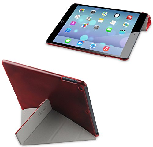Muvit MUCTB0207 Fold`N`Stand Cover Hülle für Apple iPad 5 - rot