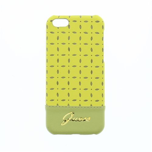 Guess Gianina Hard Cover Hülle für iPhone 5C - gelb