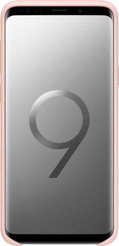 Samsung EF-PG965TPEG Silikon Cover Hülle für G965F Samsung Galaxy S9+ - pink