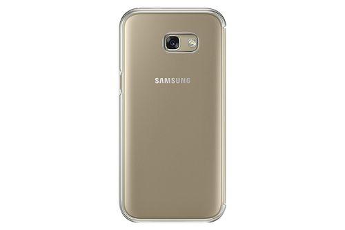 Samsung EF-ZA520CPE Clear View Cover Hülle rosa, Samsung Galaxy A5 2017