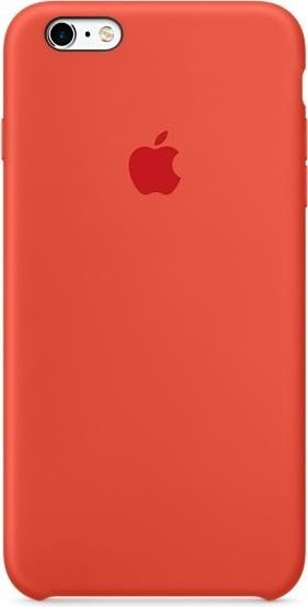 Apple MKXQ2ZM/A Silikon Cover für iPhone 6 / 6S Plus in orange