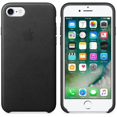 Apple MMY52ZM / A Genuine Leather Cover for iPhone 7/8 in Black