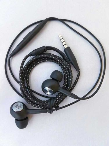 Packaging damaged Original HSS-B904 B & O PLAY Headset Earphone with Microphone for Android - Black Silver