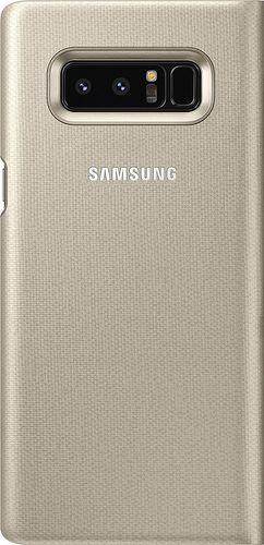 Samsung EF−NN950PFEG LED View Book Cover Gold für N950F Samsung Note 8