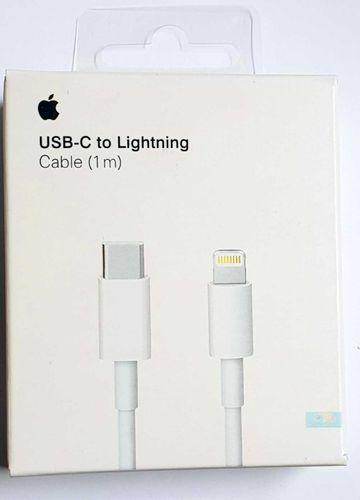 Originalverpackt Apple A1656 MKOX2, USB-C- auf Lightning, Ladekabel 1m - weiss