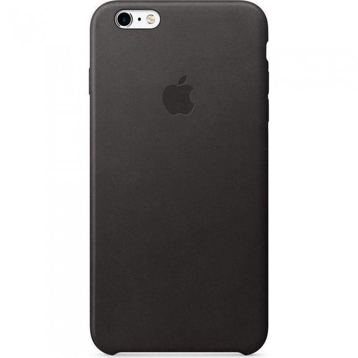Originalverpackung Apple MKXF2ZM/A Leder Cover Hülle für iPhone 6s+ Plus - schwarz