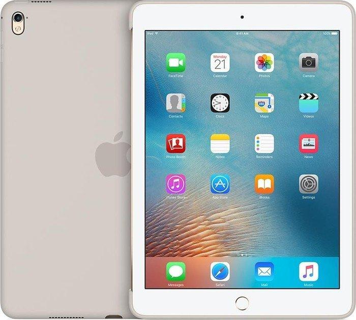 Apple MM232ZM/A Silikon Cover Hülle für iPad Pro 9.7  steingrau