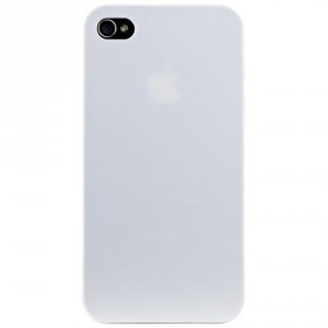 Ozaki iCoat Hard Cover Hülle 0.4mm für iPhone 4 / iPhone 4S - weiss