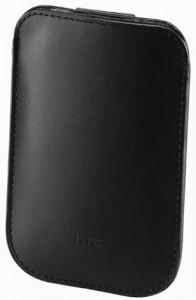 HTC PO S530 Leder Hülle Pouch für HTC Wildfire, Smart, HDmini